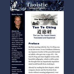 Tao Te Ching The Taoism of Lao Tzu Explained