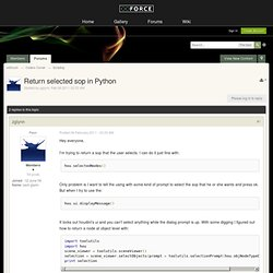Houdini Python GUI | Pearltrees