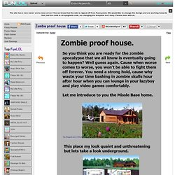 Zombie proof house | Pearltrees on zombie proof island, zombie proof house, zombie meme, anti-zombie house, zombie home defense, zombie log house, granite house, 18th century fortified house, post-apocalyptic house, zombie architecture, small 800 sq ft. house, sherlock holmes house, zombie bunker, doomsday house, zombie proofing your home, viral nova house, zombies surrounding a house, survival house, zombie proof boat, small home modern modular prefab house,