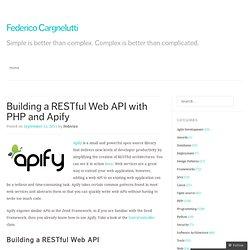 PHP Restful Frameworks | Pearltrees
