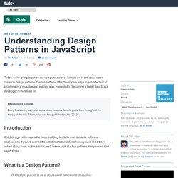 Understanding Design Patterns In Javascript Pearltrees