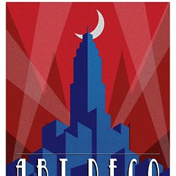 Art Deco Poster New York.Art Deco Poster New York By Audoman2607 560x350 Pearltrees