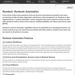Rundeck org - Job Scheduler and Runbook Automation   Pearltrees