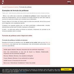 Formules De Politesse 50 Exemples Et Usages Corrects