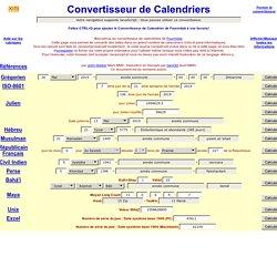 Calendrier Revolutionnaire Conversion.Convertisseur De Calendrier Pearltrees