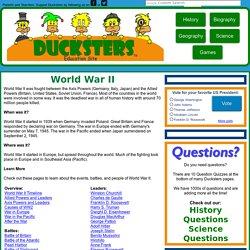 Write my world war 2 homework