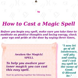 Easy Free Magick Spells | Pearltrees