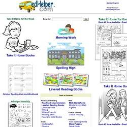 EdHelper.com - Math, Reading Comprehension, Themes, Lesson ...