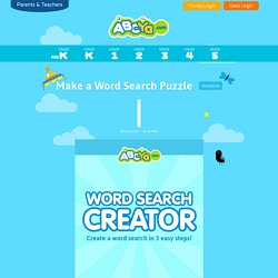 Make a Crossword Puzzle | Pearltrees