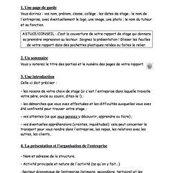 Le Stage Et Le Rapport De Stage En 3eme Pearltrees