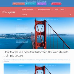 Divi Template | Pearltrees