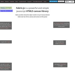 Fabric js Javascript Canvas Library | Pearltrees