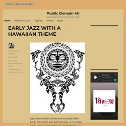 Best Public Domain Music Downloads at Public Domain 4U