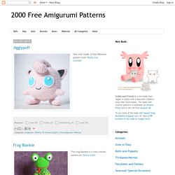 19 Free Amigurumi Crochet Patterns | AllFreeCrochet.com | 250x250