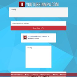Youtube In Mp4 Download Youtube Videos In Mp4 Format Pearltrees