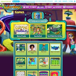 Math Games for Kids   Cyberchase | Pearltrees