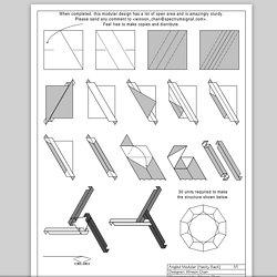 Modular Origami Magic Rose Cube Folding Instructions.pdf | Origami ... | 250x250