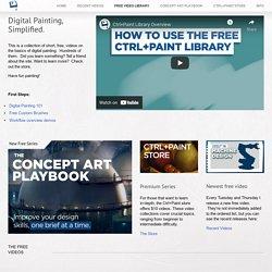 Free Video Library — Ctrl+Paint - Digital Painting