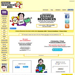 Primary Resources - Free teaching resources, lesson plans ...