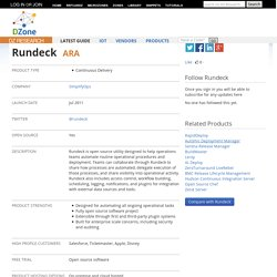 Rundeck | Pearltrees