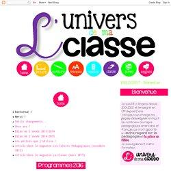 L Univers De Ma Classe Pearltrees