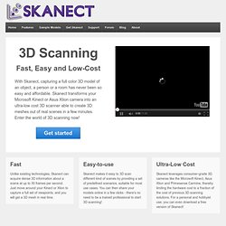 Skanect by Manctl | Pearltrees