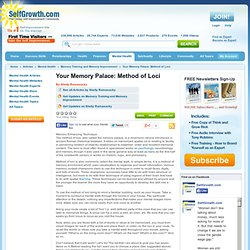 Your Memory Palace: Method of Loci | Pearltrees