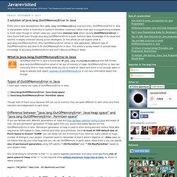 Memory management (Applet Java)   Pearltrees