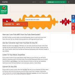 youtube converter dailymotion
