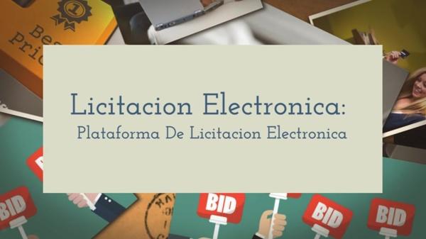 Licitacion Electronica Plataforma De Licitacion Electronica - httpspixelware.comsn-plataforma-de-licitacion-electronica