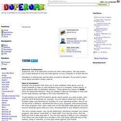 Rom Hustler - PSX ROMs GBA ROMs NDS ROMs SNES ROMs   Pearltrees