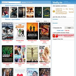 Vodly - Watch Movies Online Free - Just Added | Pearltrees