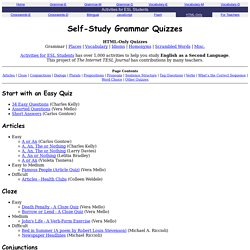 English grammar exercises, with answers  | Pearltrees