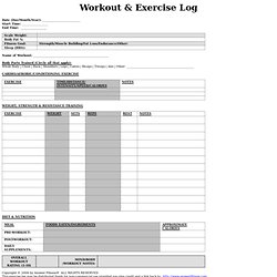 photo regarding Spartacus Workout Printable named Physical fitness - edgoodger Pearltrees