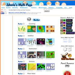 Mathematical Interactivities - Games, Puzzles and other