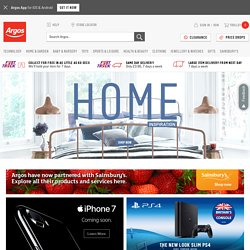Shop Online with Argos co uk - your Online Catalogue for
