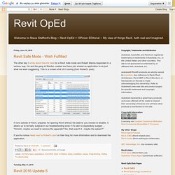 Revit OpEd | Pearltrees