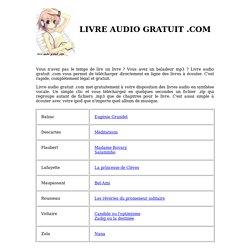 Livre Audio Gratuit Com Gratuit Sans Inscription Mp3