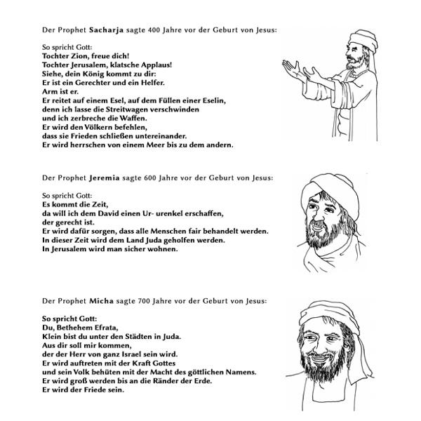 Messianische Verheiungen der Propheten