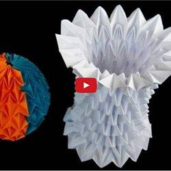 Origami Magic Ball (Dragon's Egg by Yuri Shumakov) - YouTube | 250x250