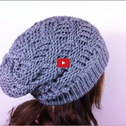 Vidéo Faire Un Bonnet Slouchy Au Tric Pearltrees