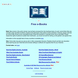 Esoteric Free Libraries | Pearltrees