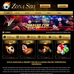 Zonasbo Agen Bandar Taruhan Judi Bola Casino Sbobet Terbesar Pearltrees