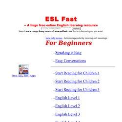 ESL/EFL Reading - 365 ESL/EFL Short Stories | Pearltrees