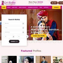 Get Rishata Matrimony (marriagebureau) | Pearltrees