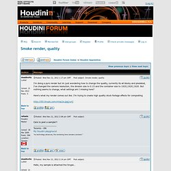 Houdini_volumes | Pearltrees