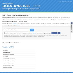 Youtube to MP3 Converter   Pearltrees