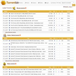 Download verified torrents: movies, music, games, software