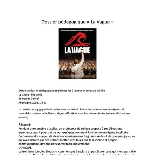 La Vague - Magazine cover