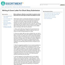 Cover Letter For Short Story Submission from cdn-thumbshot-ie.pearltrees.com